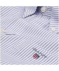 men u0027s gant poplin banker striped shirt