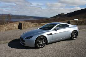 Aston Martin V8 Vantage Sports Car Hire Highlands Of Scotland