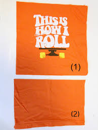 How To Place Throw Pillows On A Bed How To Make Throw Pillows Out Of Old T Shirts How Tos Diy