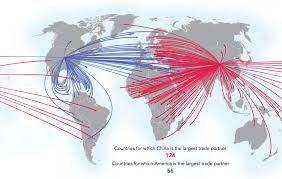 Map Snap Asia by Four Maps Showing China U0027s Rising Dominance In Trade