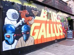 trendy sign balbir s picture wars mural near to restaurant picture of balbir s restaurant