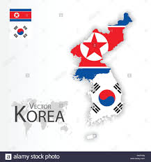 South Korea Flag North Korea Democratic People U0027s Republic Of Korea And South