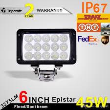car led lights for sale sale 45w 15 x 3w waterproof offroad car led work light l bar
