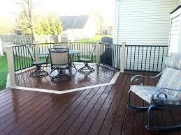 patio ideas outdoor wood paint white wood patio deck paint