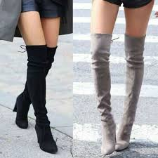 womens boots large sizes large size 2017 fashion the knee high boots