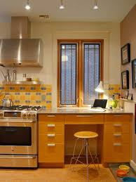 built in kitchen desk home design ideas pictures remodel and decor