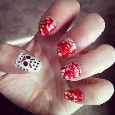 horror movie nail art inspiration popsugar beauty