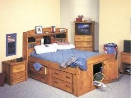 Full Size Bed With Bookcase Headboard Creating A New Look For Your Bedroom With Bookcase Bed