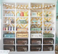 Closet Craft Room - craft room inspiration crazy little projects