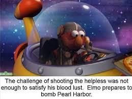elmo bombing pearl harbor sesame street meme funny pinterest