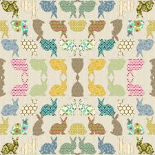 rabbit material year of the colorful rabbit wallpaper littlerhodydesign