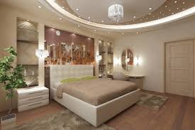 Contemporary Bedroom Modern Ceiling Lights With Hanged Pendant Fixtures And Curved