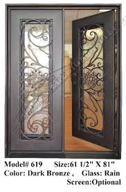 wrought iron entry doors doors with iron works ornamental iron