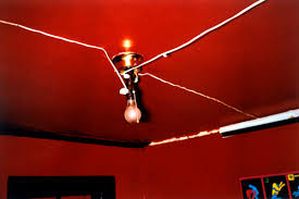 Red Ceiling Lights by Lo Light Photogaphy