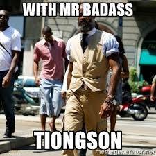 Mr Badass Meme - with mr badass tiongson professor badass meme generator
