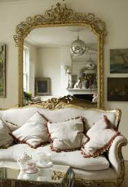 living room white wallpaper classic style 3 seat grey sofa