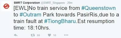 sle resume accounts assistant singapore mrt fare charges of pakistan no train service on ewl due to train fault the online citizen