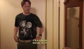 Wolf T Shirt Meme - the office isms dwight schrute memes