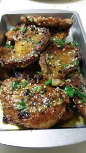 garlic butter pork chops recipe in comments food keto