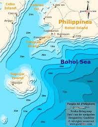 alona resort map map of panglao island gooddive