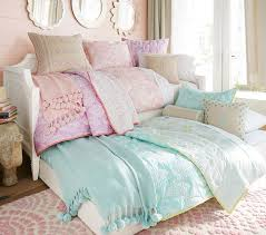Girls Quilted Bedding by Paisley Wholecloth Quilted Standard Sham Pottery Barn Kids