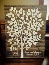 wedding trees best 25 canvas guest books ideas on rustic guest