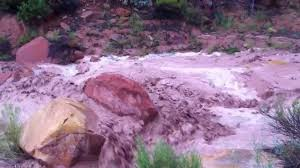 out running a southern utah flash flood youtube