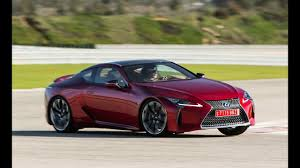 lexus lc 500 competition 2018 lexus lc 500 test drive event youtube