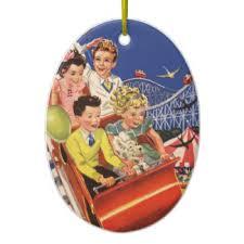 roller coaster amusement park ornaments keepsake ornaments zazzle