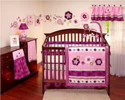 toile lavender crib bedding decoration home inspirations design