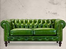 Vintage Leather Chesterfield Sofa Stylish Green Leather Chesterfield Sofa Vintage Leather
