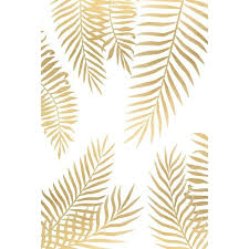 Gold Home Decor Accessories Gold Palm Leaves Canvas Print Liked On Polyvore Featuring Home