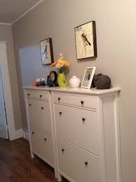 impressive long shoe cabinet product inspiration hemnes shoe