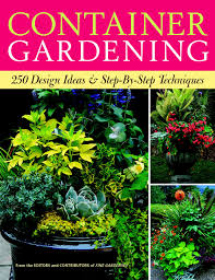 container gardening 250 design ideas u0026 step by step techniques