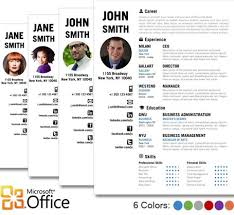 10 best images of creative resume templates for microsoft word