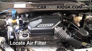 2005 toyota engine 2001 2005 toyota rav4 engine air filter check 2001 toyota rav4