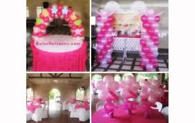 centerpieces for bautizo christening decorations girl