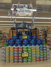 how much does a pallet of bud light cost beer display inside kroger shopper marketing pinterest pallet