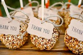 fall wedding favors 14 favors for your fall wedding brit co