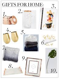 home decor gift items holiday guide 2017 home decor chic talk