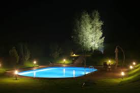 lighting your backyard from your dallas pool builder custom