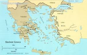 blank map of ancient greece maps of ancient greece map travel holidaymapq com