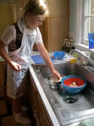 montessori messy kids in the kitchen teaching tips