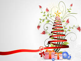 ribbon christmas free ppt backgrounds for your powerpoint templates