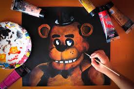 Painting Fazbear Fnaf Budget