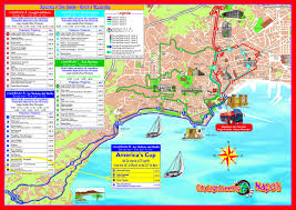 Napoli Map by Naples Sightseeing Tour Simple Order Groundline