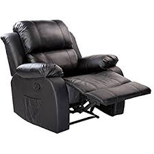 Recliner Chair With Speakers Amazon Com Recliner Genius Leather Recliner Chair Heated Massage