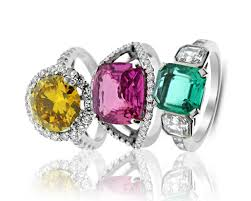 coloured stones rings images Antique vintage diamond engagement rings hatton jewels jpg