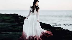 ombre wedding dress ombre wedding dresses are a twist on traditional white cosmo ph