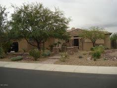 Front Yard Desert Landscape Mediterranean Exterior Front Yard Xeriscape With River Run And Desert Landscaping In